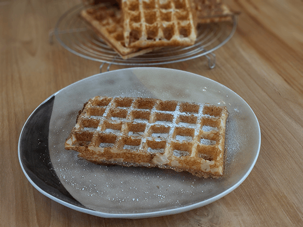 Thermomix Brusselse wafels