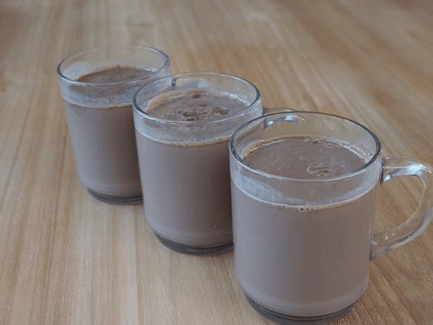 chocolademelk in de Thermomix
