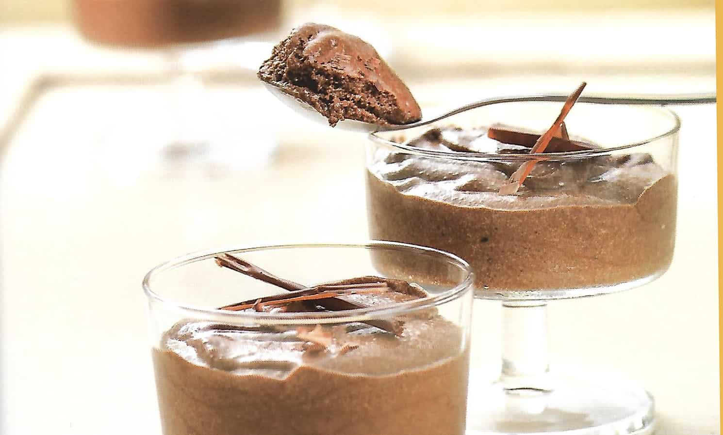 chocolademousse in Thermomix